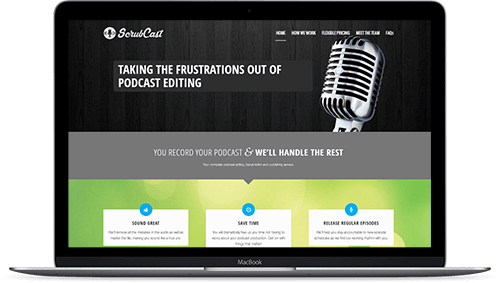 ScrubCast - Podcast Editing Company